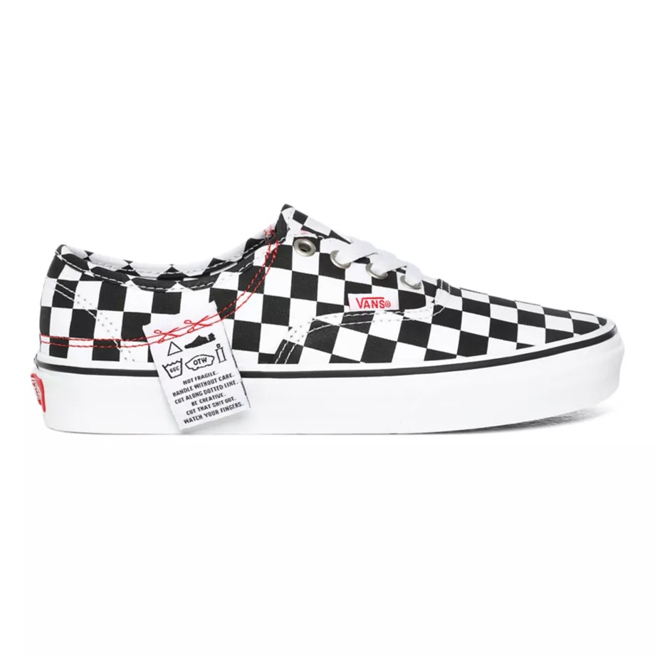 VANS DIY AUTHENTIC HC CHECKERBOARD/TRUE WHITE