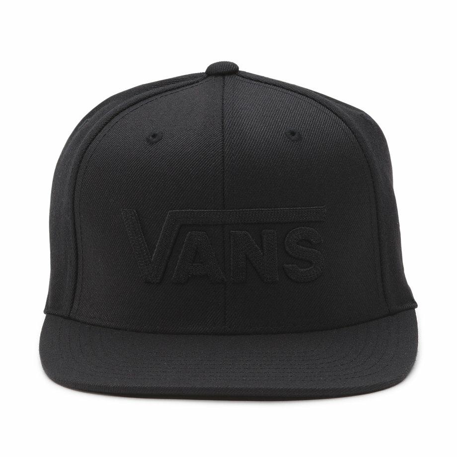 VANS Việt Nam - VANS DROP V SNAPBACK HAT BLACK/BLACK VN0A36ORBKA