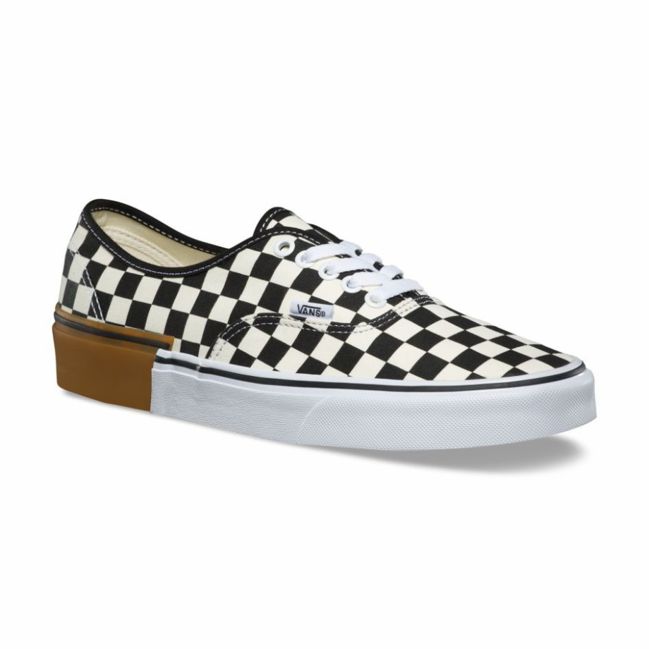 VANS Việt Nam -  VANS GUM BLOCK AUTHENTIC CHECKERBOARD VN0A38EMU58