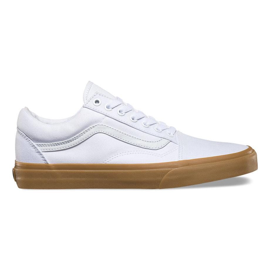 VANS Việt Nam- VANS GUM OLD SKOOL TRUE WHITE LIGHT GUM VN0A31Z9L0G