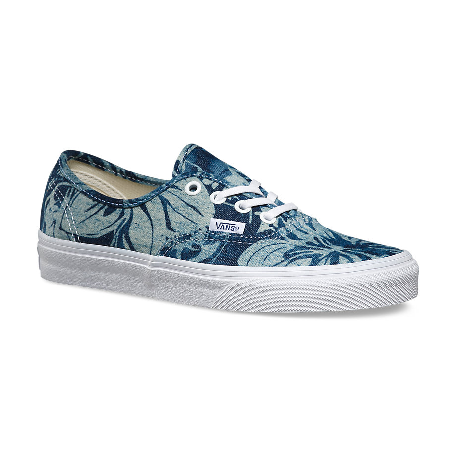 VANS Việt Nam - VANS INDIGO TROPICAL AUTHENTIC VN0003B9IEJ
