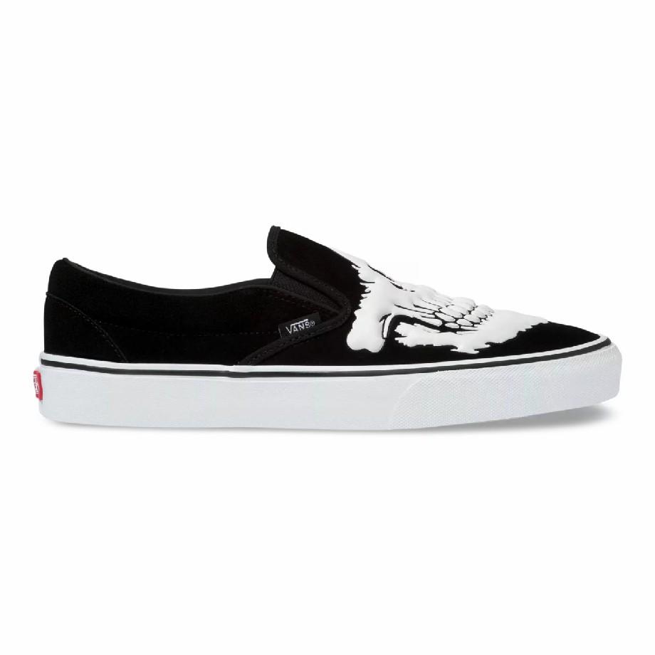 VANS JAWBONES SLIP-ON BLACK