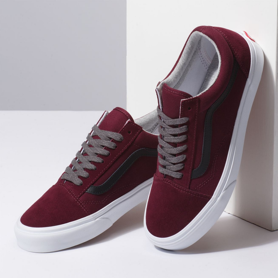 VANS JERSEY LACE OLD SKOOL PORT ROYALE/BLACK VN0A38G1UP7 - VANS VN