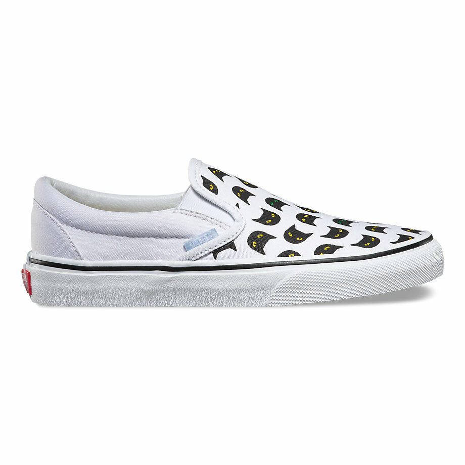 VANS MEOW SLIP-ON BLACK/TRUE WHITE