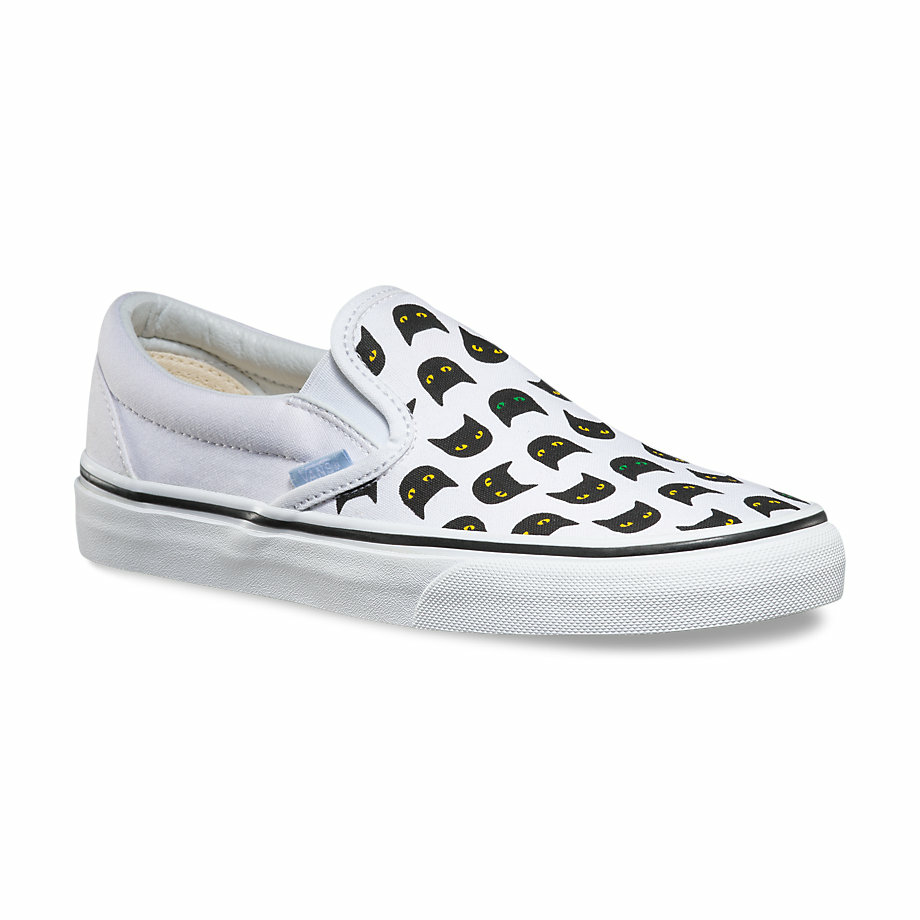 VANS Việt Nam - VANS MEOW SLIP-ON BLACK/TRUE WHITE VN0004MPJHT