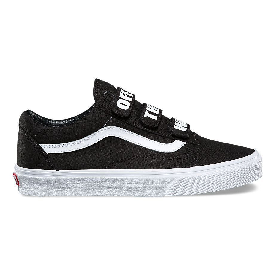 VANS OFF THE WALL OLD SKOOL V BLACK/TRUE WHITE
