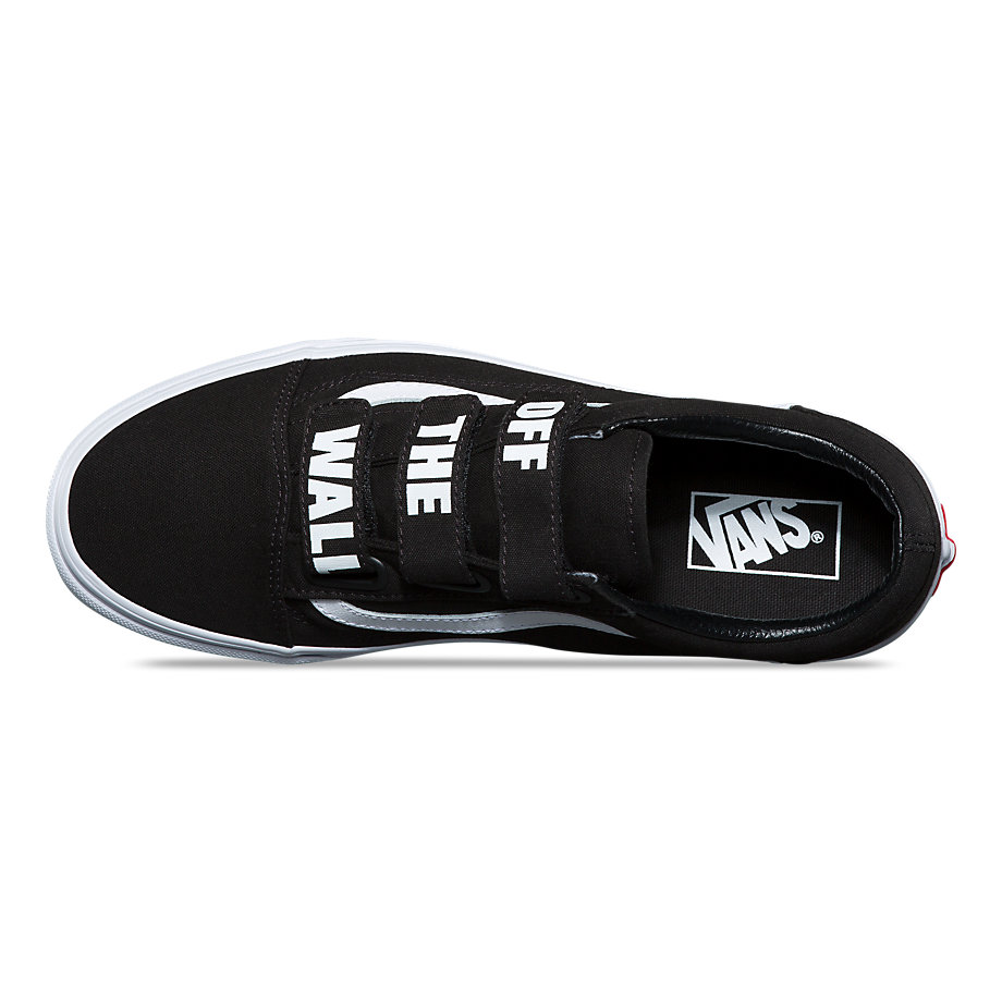 VANS Việt Nam - VANS OFF THE WALL OLD SKOOL V BLACK VN0A3D29R2P