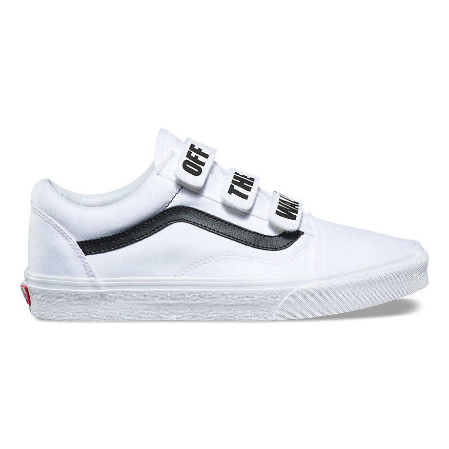 VANS OFF THE WALL OLD SKOOL V TRUE WHITE/BLACK