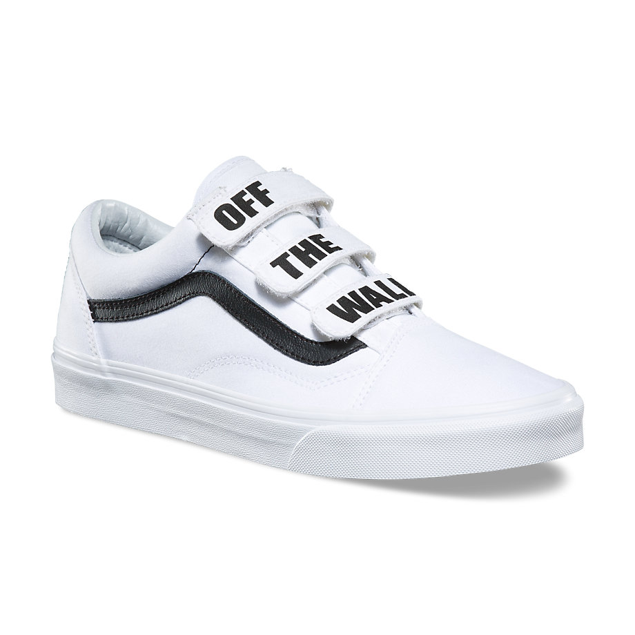 VANS Việt Nam - VANS OFF THE WALL OLD SKOOL V TRUE WHITE VN0A3D29R2Q