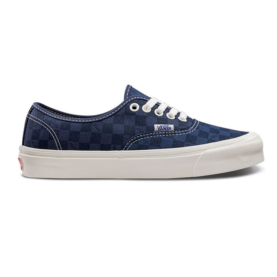 VANS VAULT OG AUTHENTIC LX (CANVAS/SUEDE) CHECKERBOARD/MAJOLICA