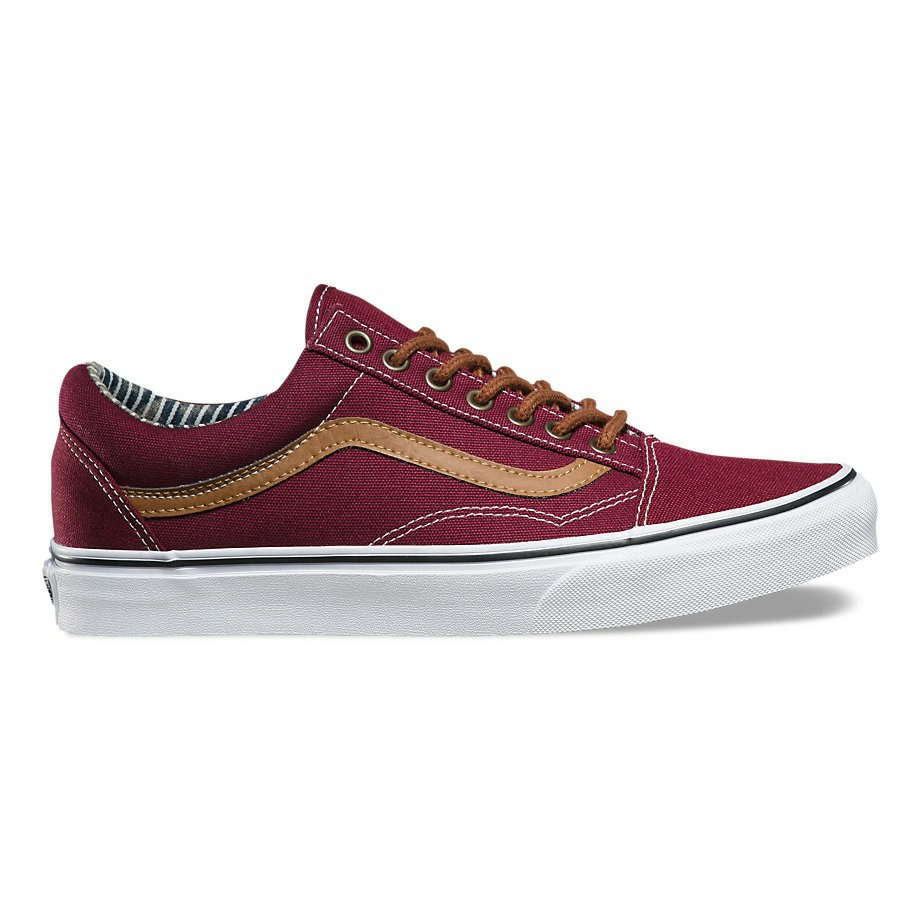 VANS OLD SKOOL (C&L) PORT ROYALE/STRIPE DENIM