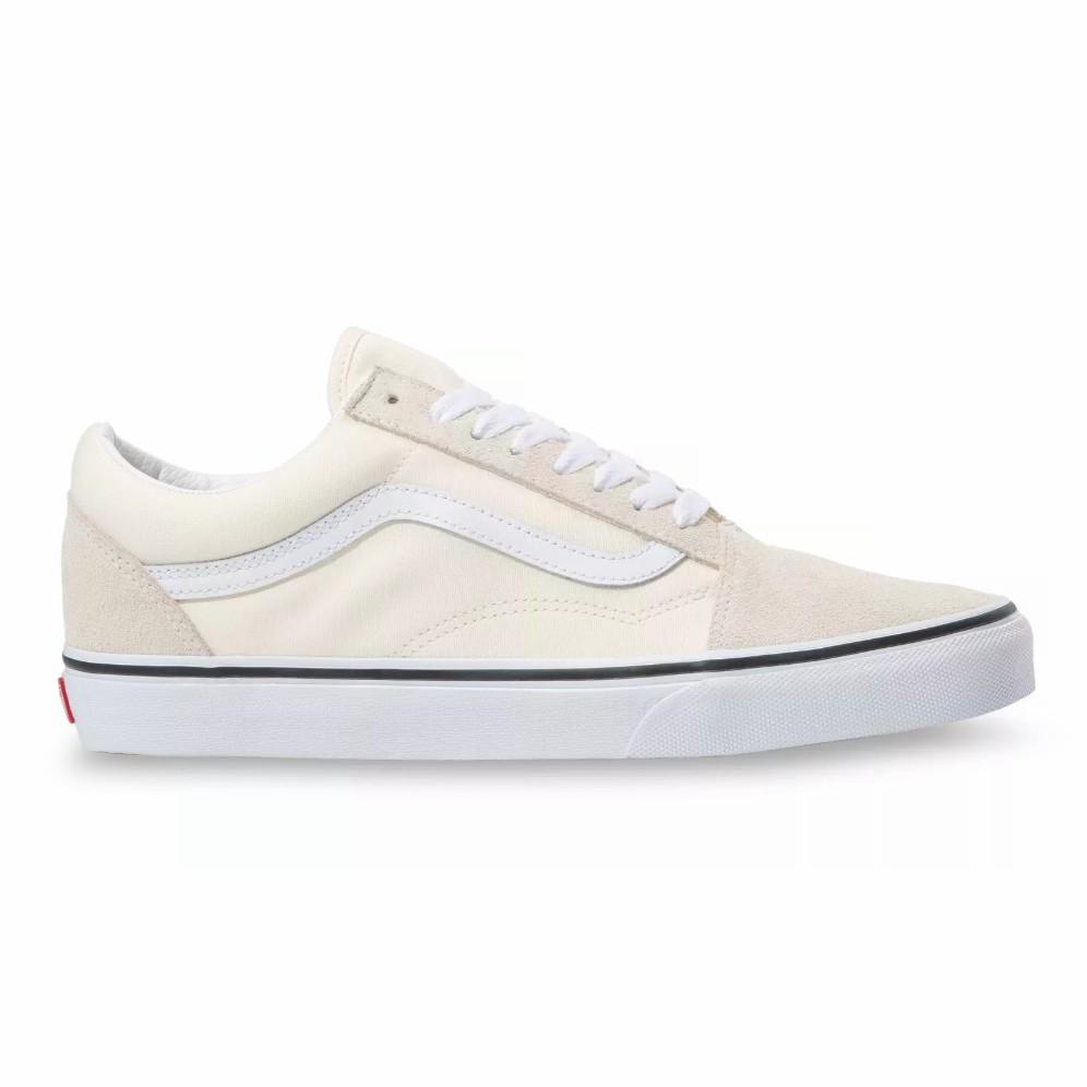 VANS VIỆT NAM - VANS OLD SKOOL CLASSIC WHITE/TRUE WHITE VN0A4U3BFRL