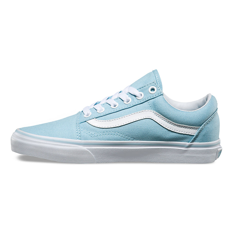 VANS Việt Nam - VANS OLD SKOOL CRYSTAL BLUE/TRUE WHITE VN0A38G1MQW