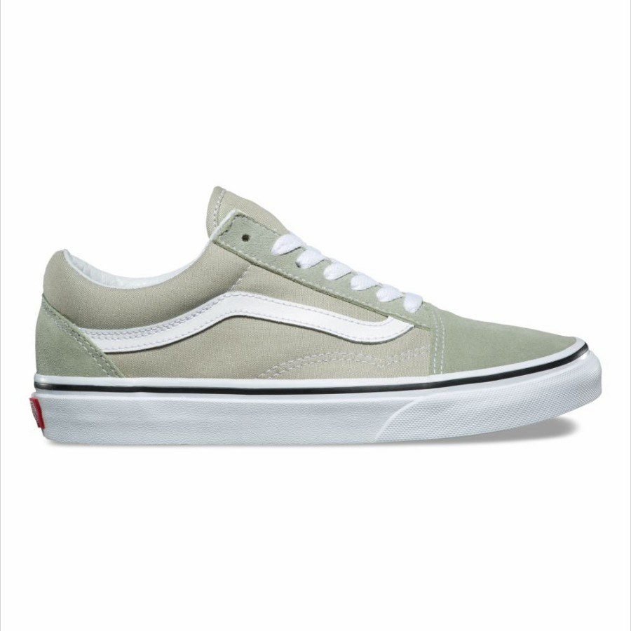 VANS OLD SKOOL DESERT SAGE/TRUE WHITE