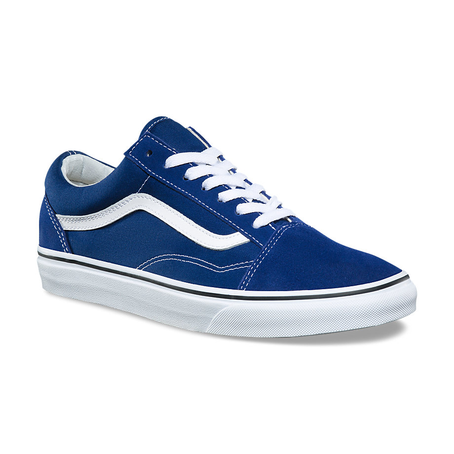 VANS Việt Nam - VANS OLD SKOOL ESTATE BLUE/TRUE WHITE VN0A38G1Q9W