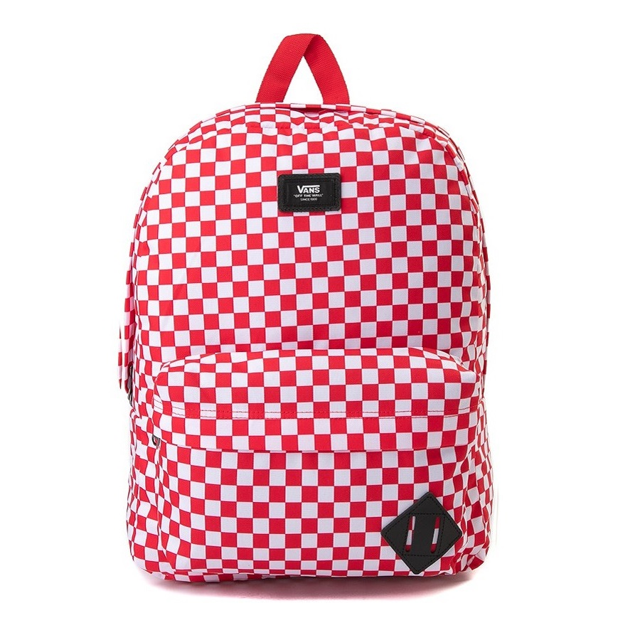VANS OLD SKOOL III BACKPACK RED CHECK
