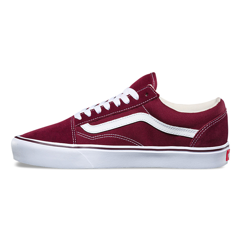 VANS Việt Nam-VANS OLD SKOOL LITE PORT ROYALE/TRUE WHITE VN0A2Z5WR2K