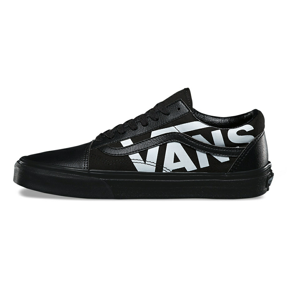VANS Việt Nam - VANS OLD SKOOL OVER BRANDED BLACK VN0A38G1QW7