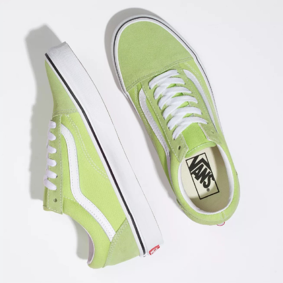 VANS Việt Nam - VANS OLD SKOOL SHARP GREEN TRUE WHITE VN0A3BV5V9K