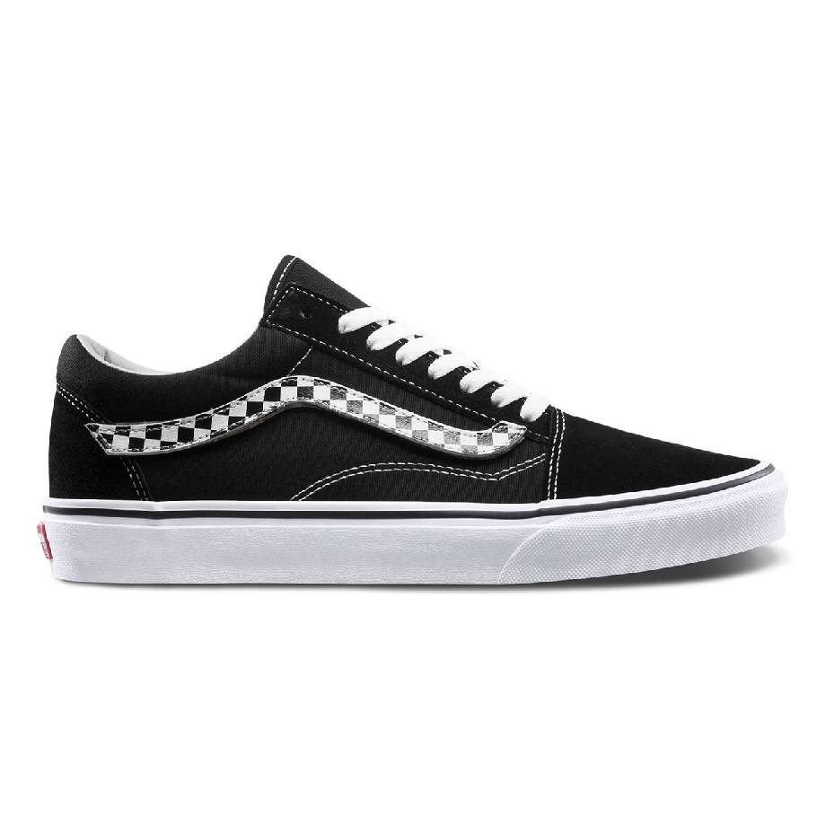 VANS OLD SKOOL SIDESTRIPE V BLACK
