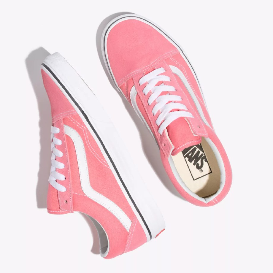 VANS Việt Nam - VANS OLD SKOOL STRAWBERRY PINK TRUE WHITE VN0A38G1GY7