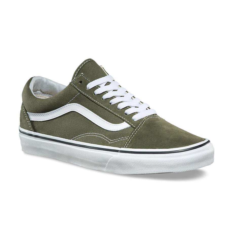 VANS Việt Nam - VANS OLD SKOOL WINTER MOSS TRUE WHITE VN0A38G1OW2