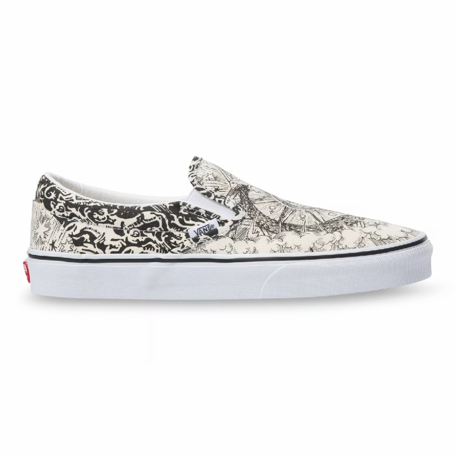 VANS OUROBOROS SLIP-ON BLACK/TRUE WHITE