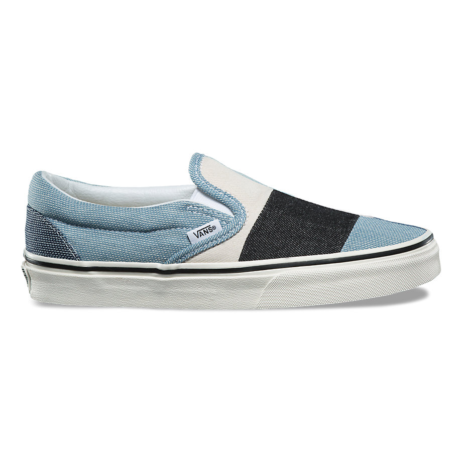 VANS PATCHWORK CLASSIC SLIP-ON DENIM
