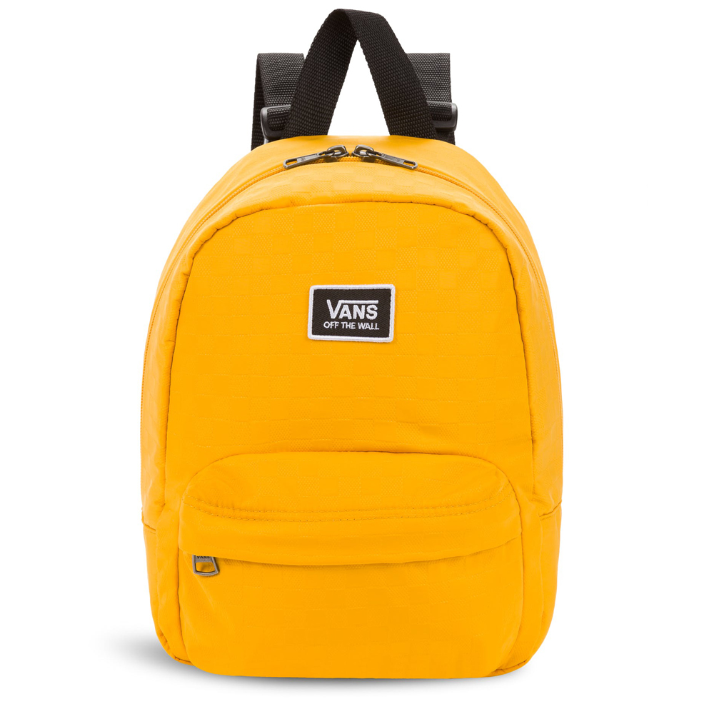 VANS PLAYING MUSTARD MINI BACKPACK