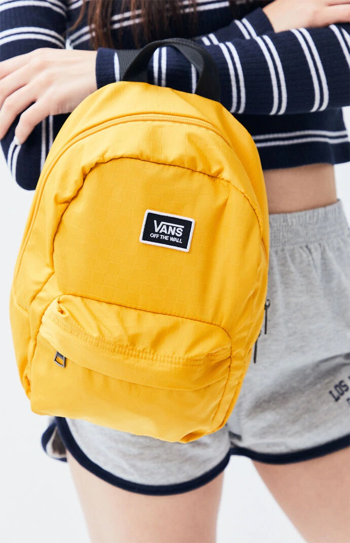 BALO VANS - VANS PLAYING MUSTARD MINI BACKPACK VN0A47QJUXM
