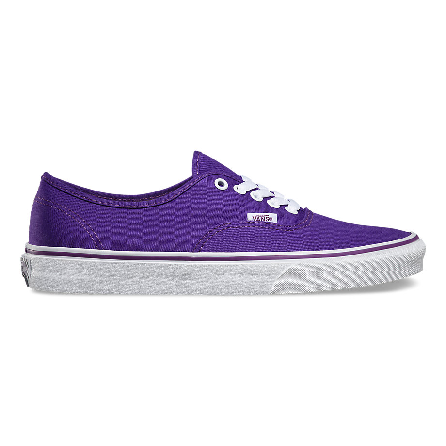 VANS POP CHECK AUTHENTIC PURPLE IMPERIAL PURPLE