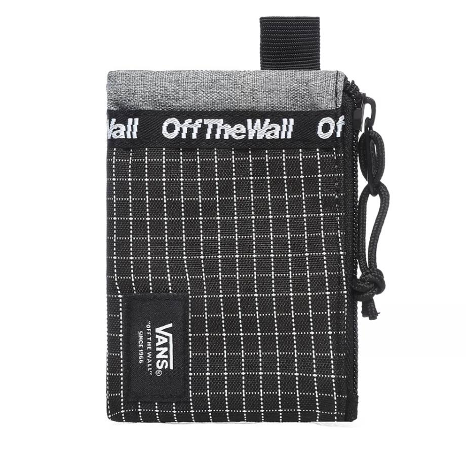 VANS POUCH WALLET BLACK/WHITE CHECKER