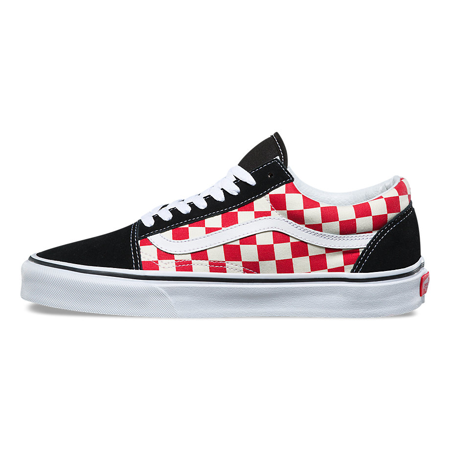 VANS Việt Nam - PRIMARY CHECKERBOARD OLD SKOOL BLACK RED VN0A38G127K