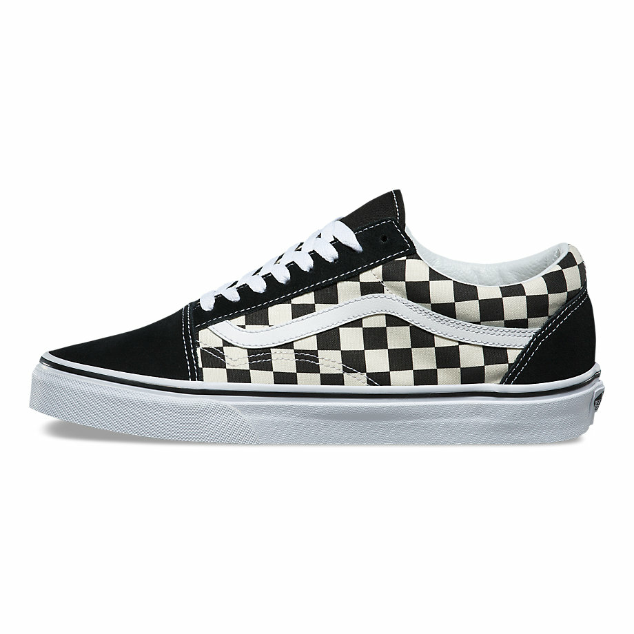 VANS Việt Nam - VANS CHECKERBOARD OLD SKOOL BLACK/WHITE VN0A38G1P0S