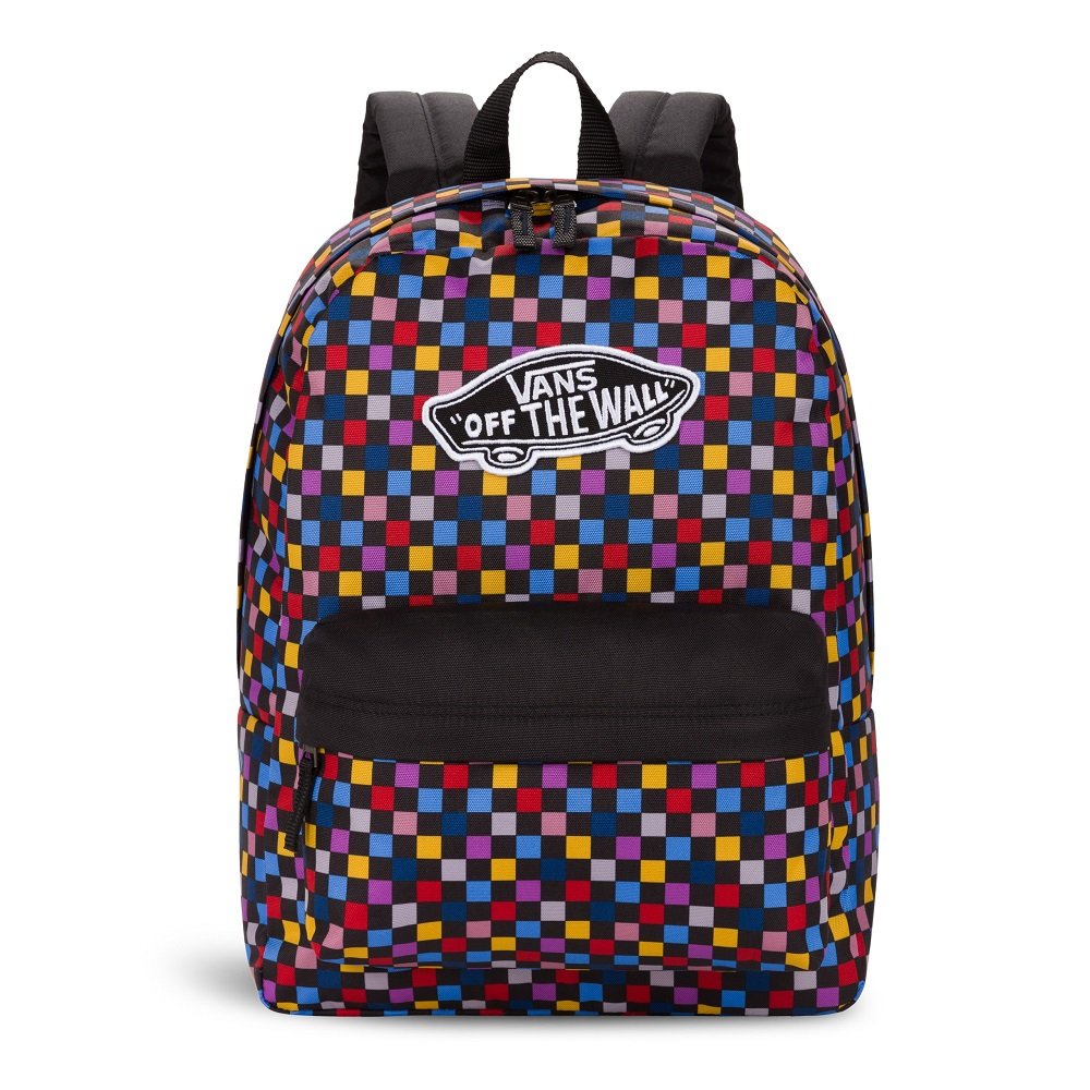 VANS REALM PRINTED BACKPACK MULTICHECK