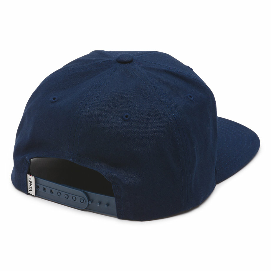 VANS Việt Nam - VANS ROWLEY SNAPBACK HAT DRESS BLUE VN0002T4NVY
