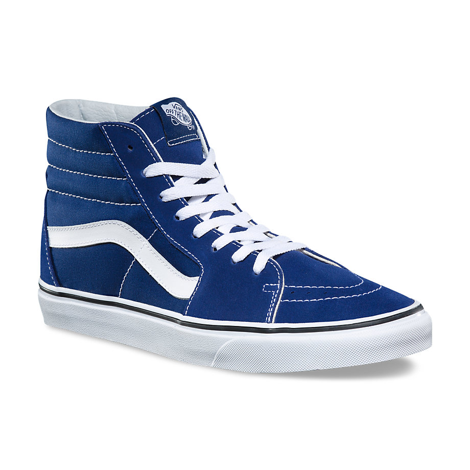 VANS Việt Nam - VANS SK8 HI ESTATE BLUE TRUE WHITE VN0A38GEQ9W