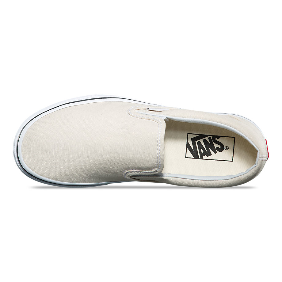 VANS Việt Nsm - VANS SLIP-ON BIRCH TRUE WHITE VN0A38F7OUE