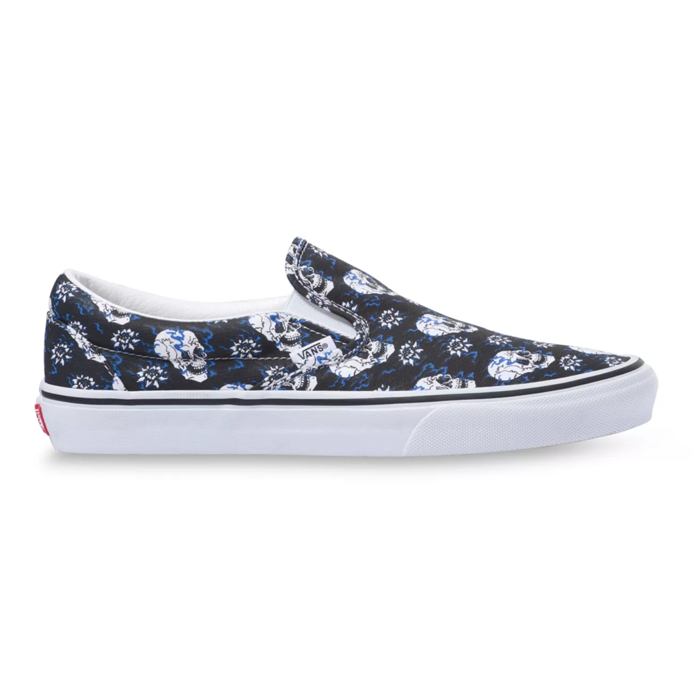 VANS SLIP-ON FLASH SKULLS