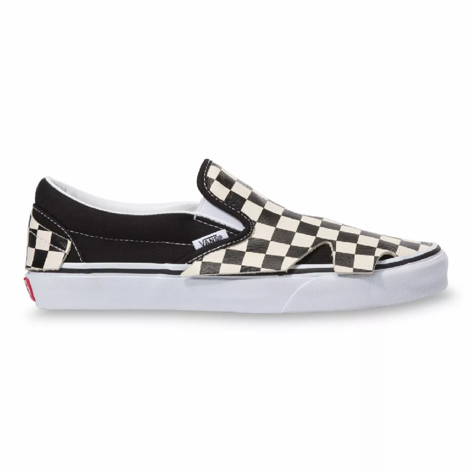 VANS SLIP-ON ORIGAMI CHECKERBOARD/TRUE WHITE