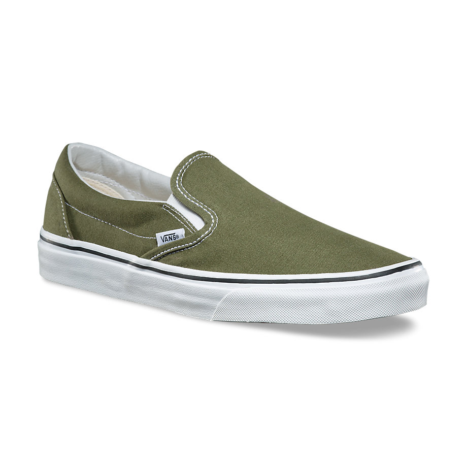 VANS Việt Nam- VANS SLIP-ON WINTER MOSS TRUE WHITE VN0A38F7OW2