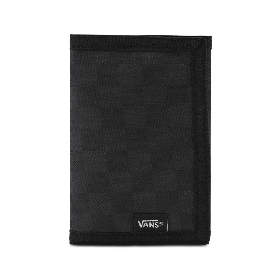 VÍ VANS - VANS SLIPPED WALLET BLACK CHARCOAL VN000C32BA5