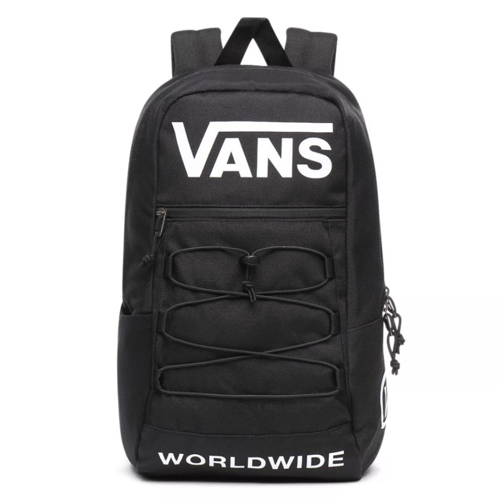 VANS SNAG BACKPACK BLACK DISTORTION