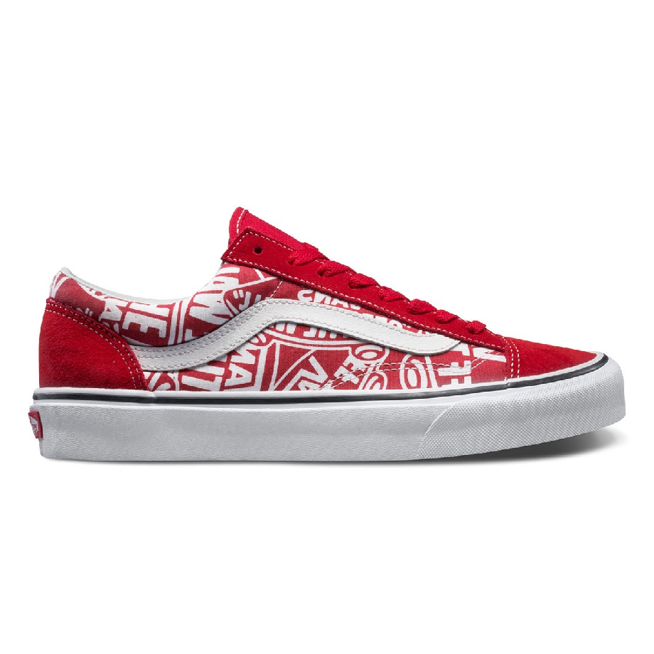 VANS OLD SKOOL STYLE 36 (OTW REPEAT) RED/TRUE WHITE