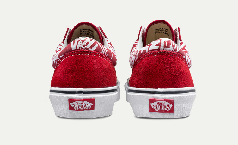 VANS Việt Nam - VANS STYLE 36 (OTW REPEAT) RED/TRUE WHITE VN0A3DZ3UKL