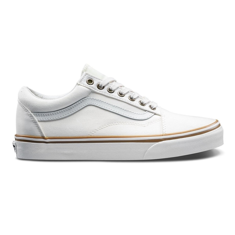 VANS SUN FADED OLD SKOOL BLANC DE BLANC