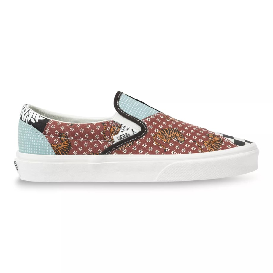 VANS TIGER PATCHWORK SLIP-ON 2020