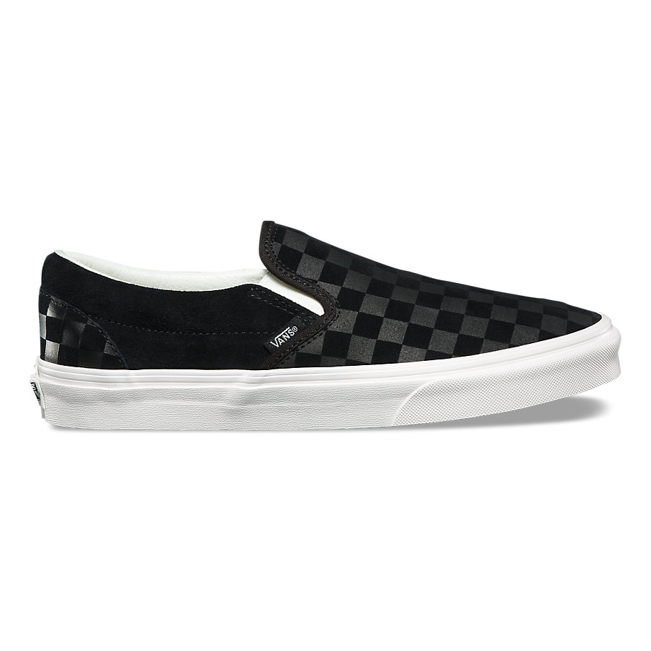 VANS UA CLASSIC SLIP-ON CHECKERBOARD EMBOSS