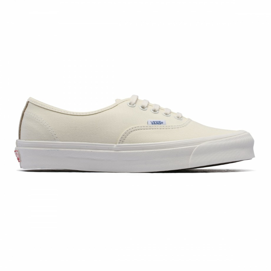VANS VAULT OG AUTHENTIC LX (CANVAS/SUEDE) WHITE SAFARI