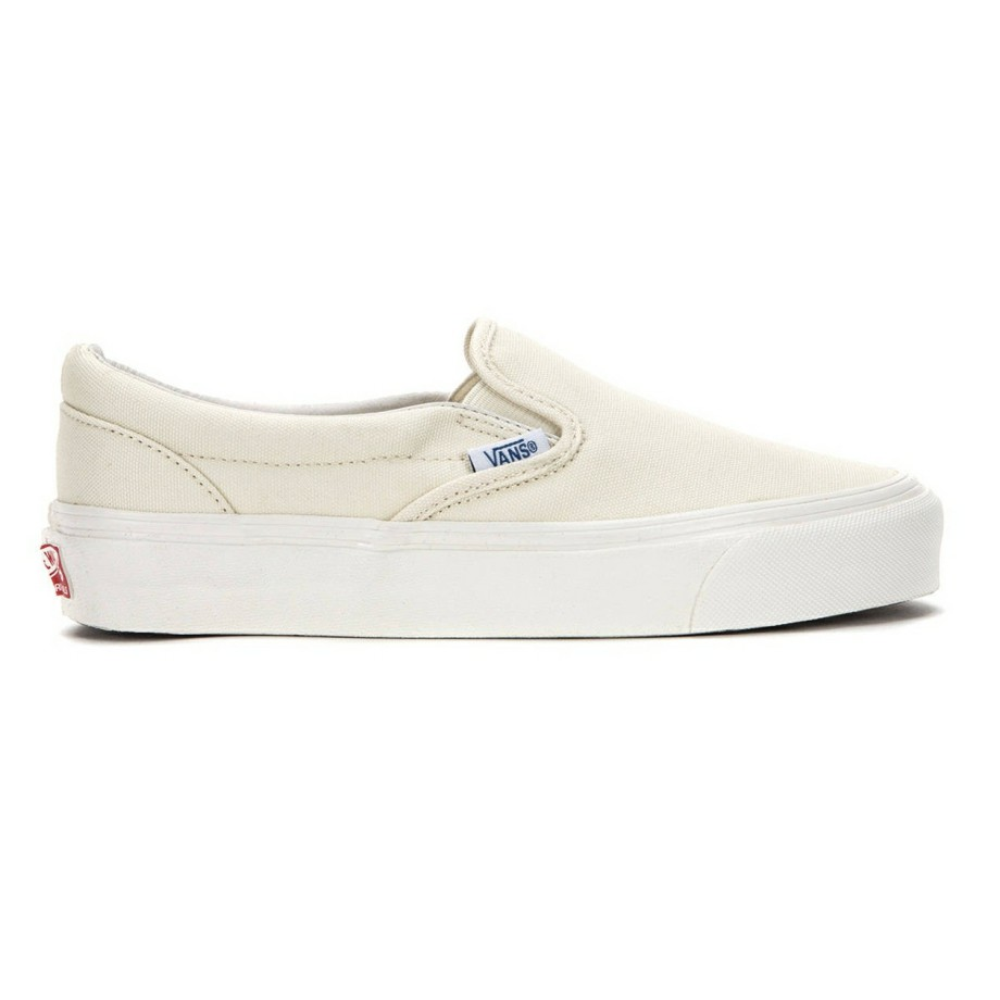 VANS VAULT OG CLASSIC SLIP-ON LX (CANVAS) WHITE